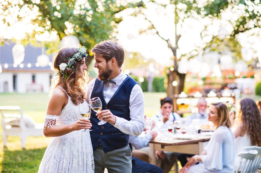 a-happy-backyard-wedding-couple