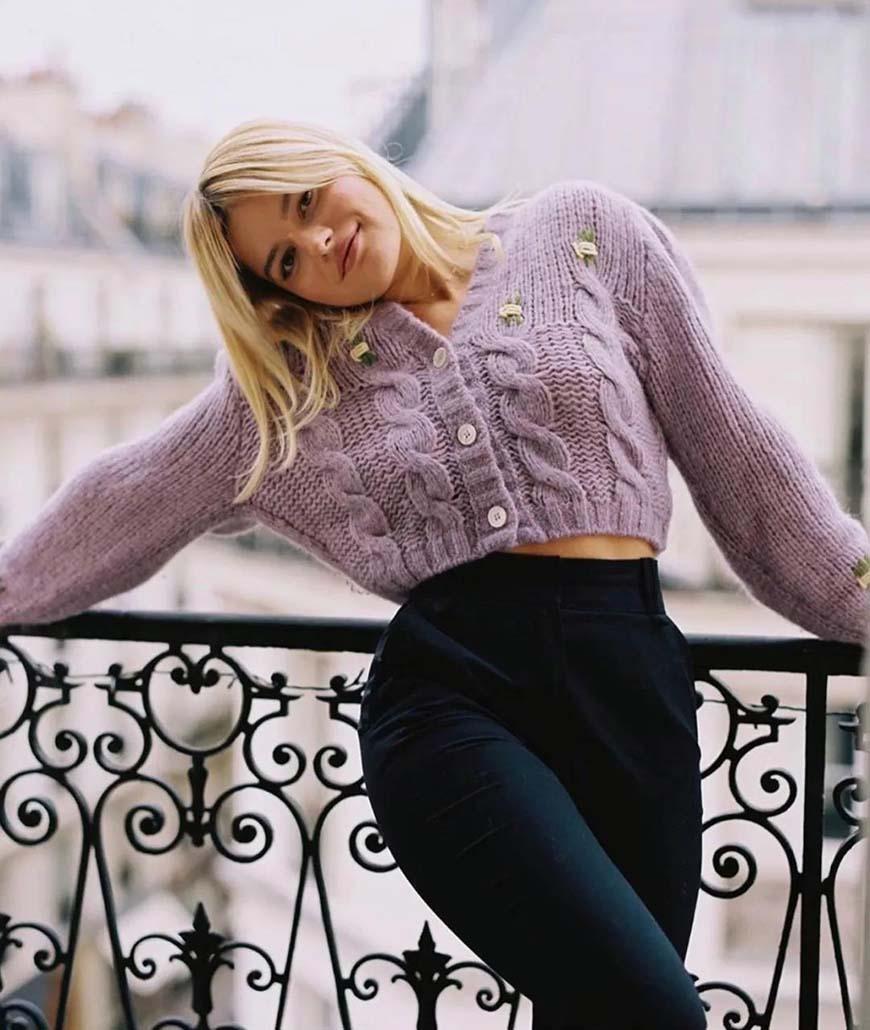 a-purple-sweater