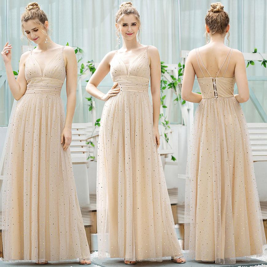 a long dress