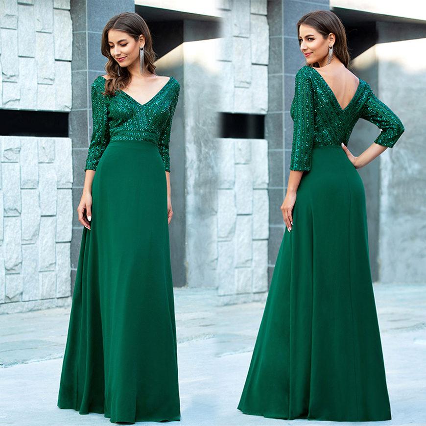 a-green-dress