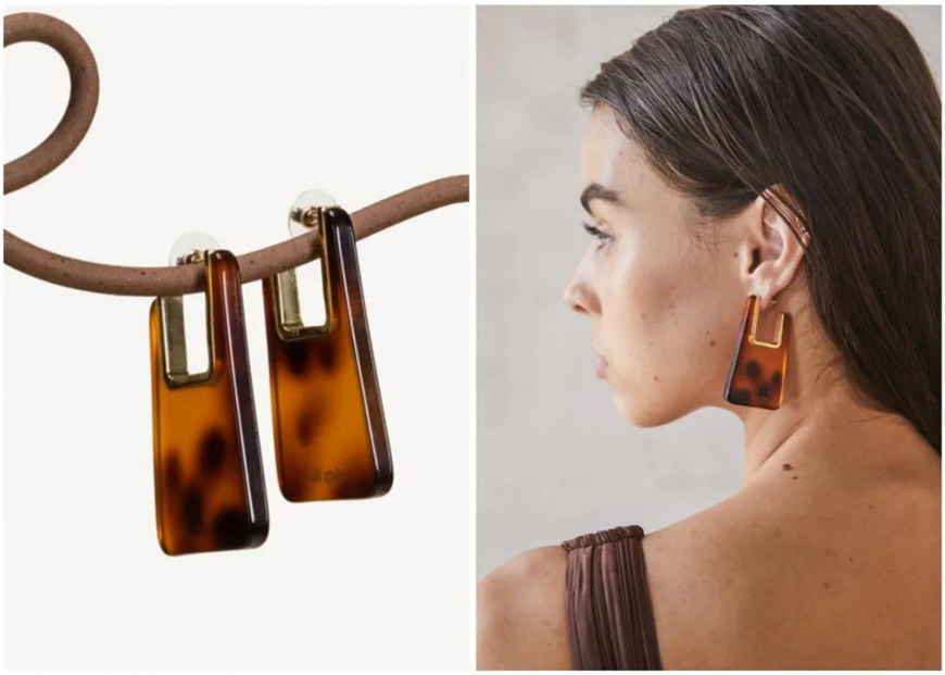gorgeous-brown-acrylic-earrings