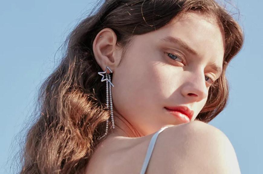tassels-silver-earrings