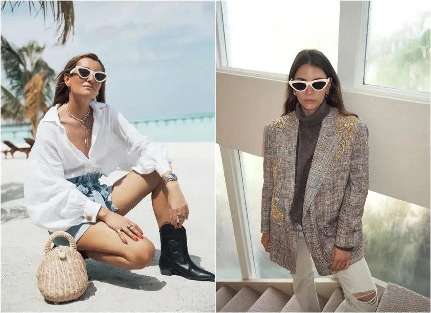 two-white-sunglasses