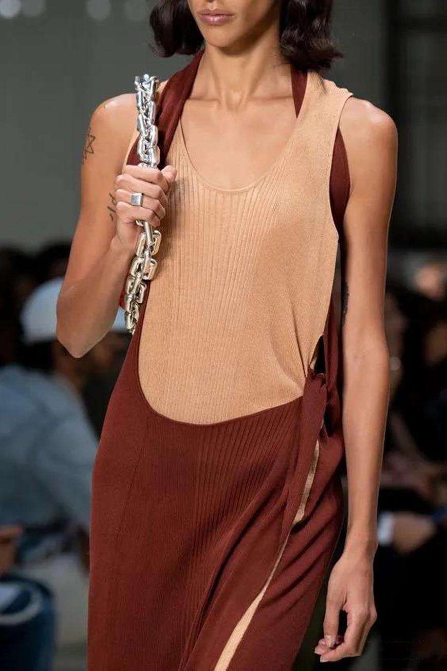 a maxi knit dressa maxi knit dress