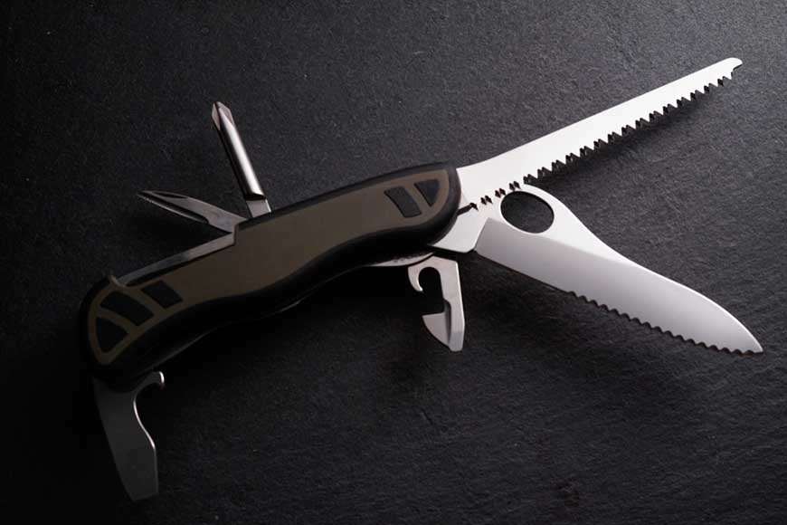 a multipurpose outdoor knife