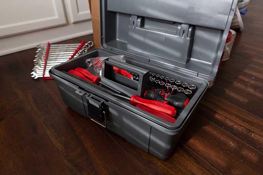 a portable toolbox