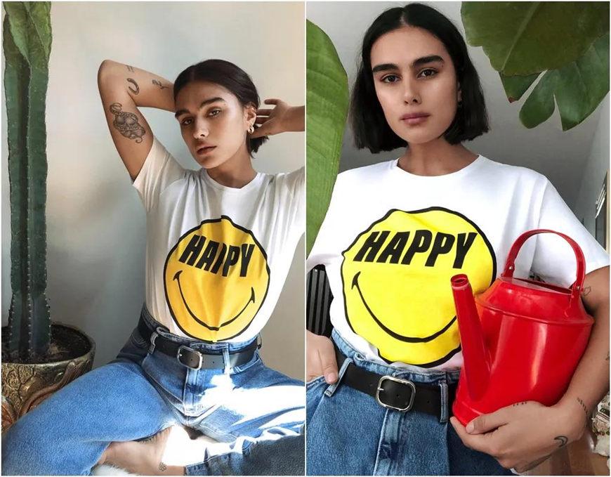 emoji slogan t-shirts