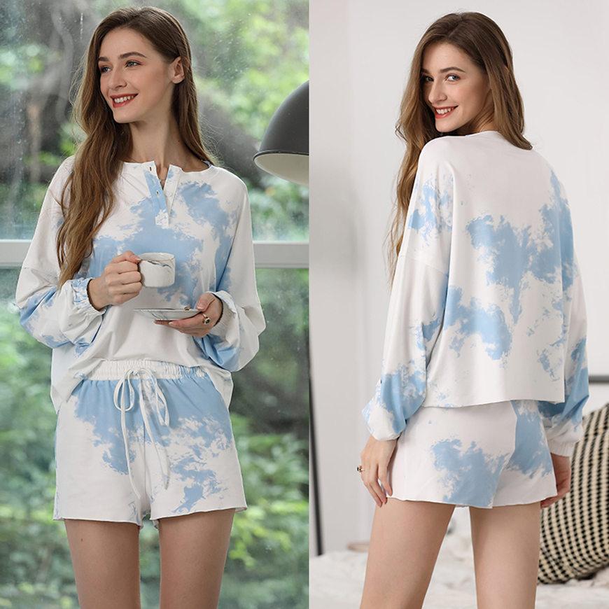 a-blue-tie-dye-loungewear