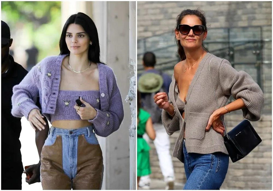 knit bras and knitwears