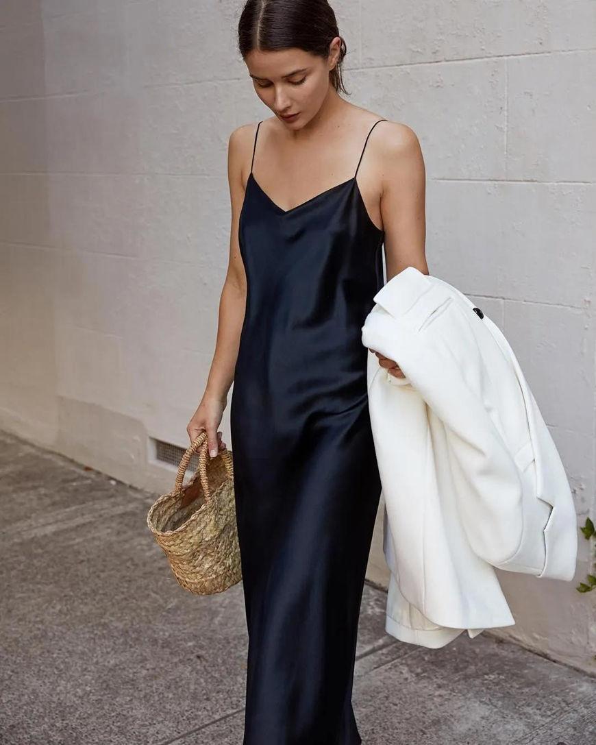 a-black-silk-dress