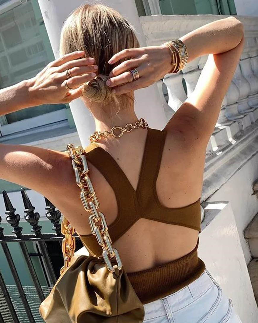a-brown-backless-top