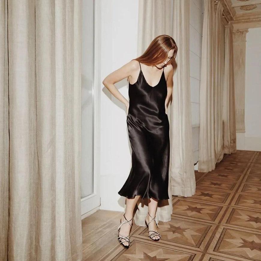 a-sexy-black-silk-dress