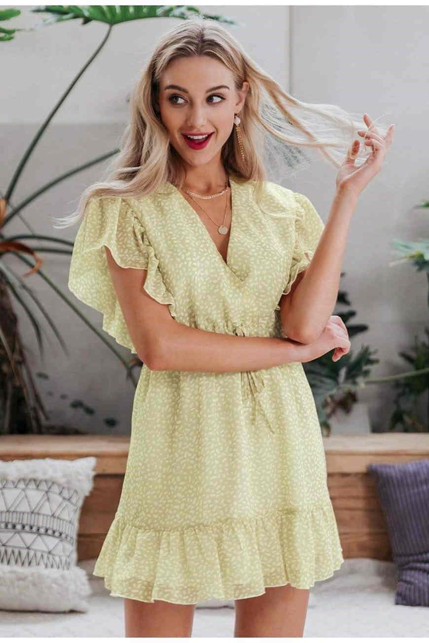 a-yellow-summer-dress