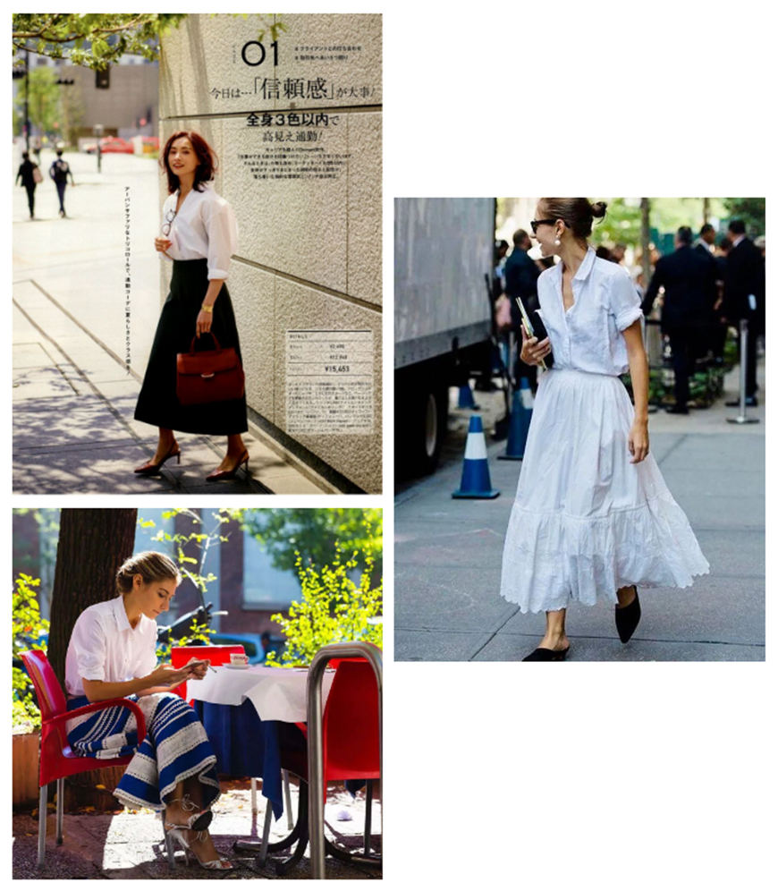 classic-blouses-and-midi-skirts