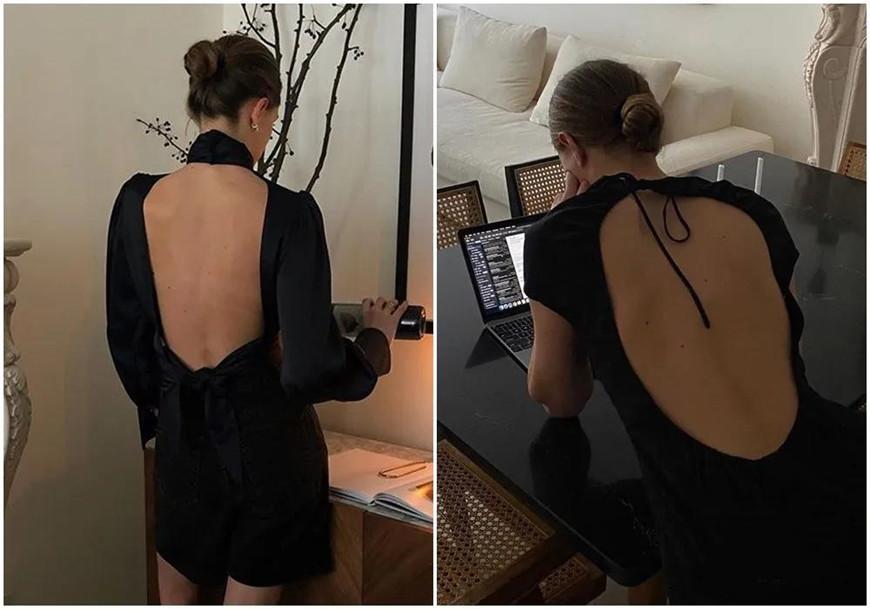 two-black-backless-dresses
