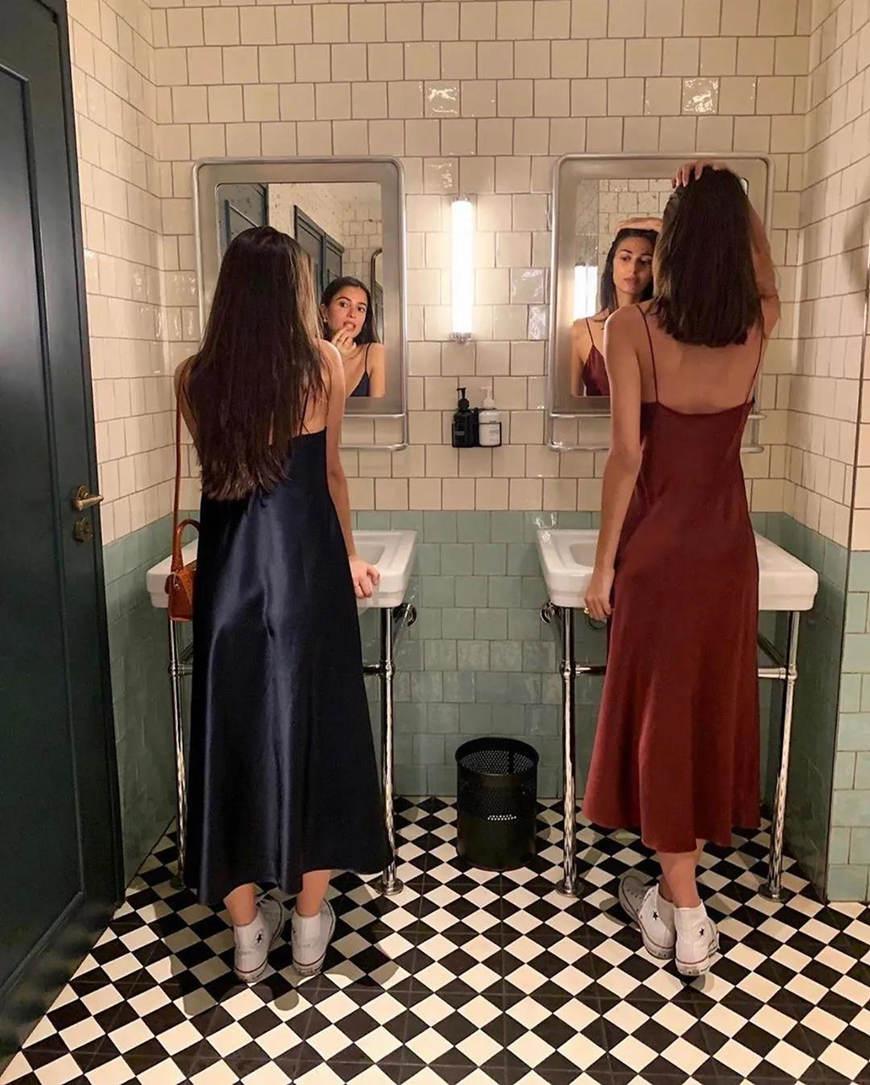 two-silk-dresses