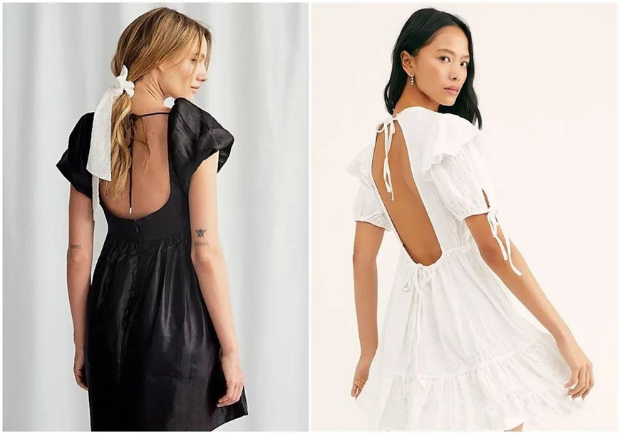 white-and-black-backless-dresses