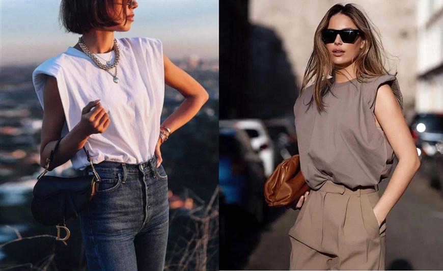 white-and-grey-sleeveless-T-shirts