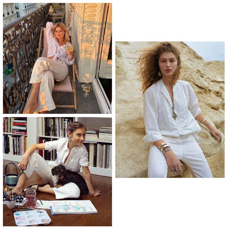white-basic-shirts-and-white-pants