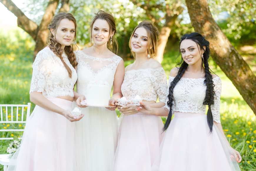 4-women-wearing-the-wedding-dresses