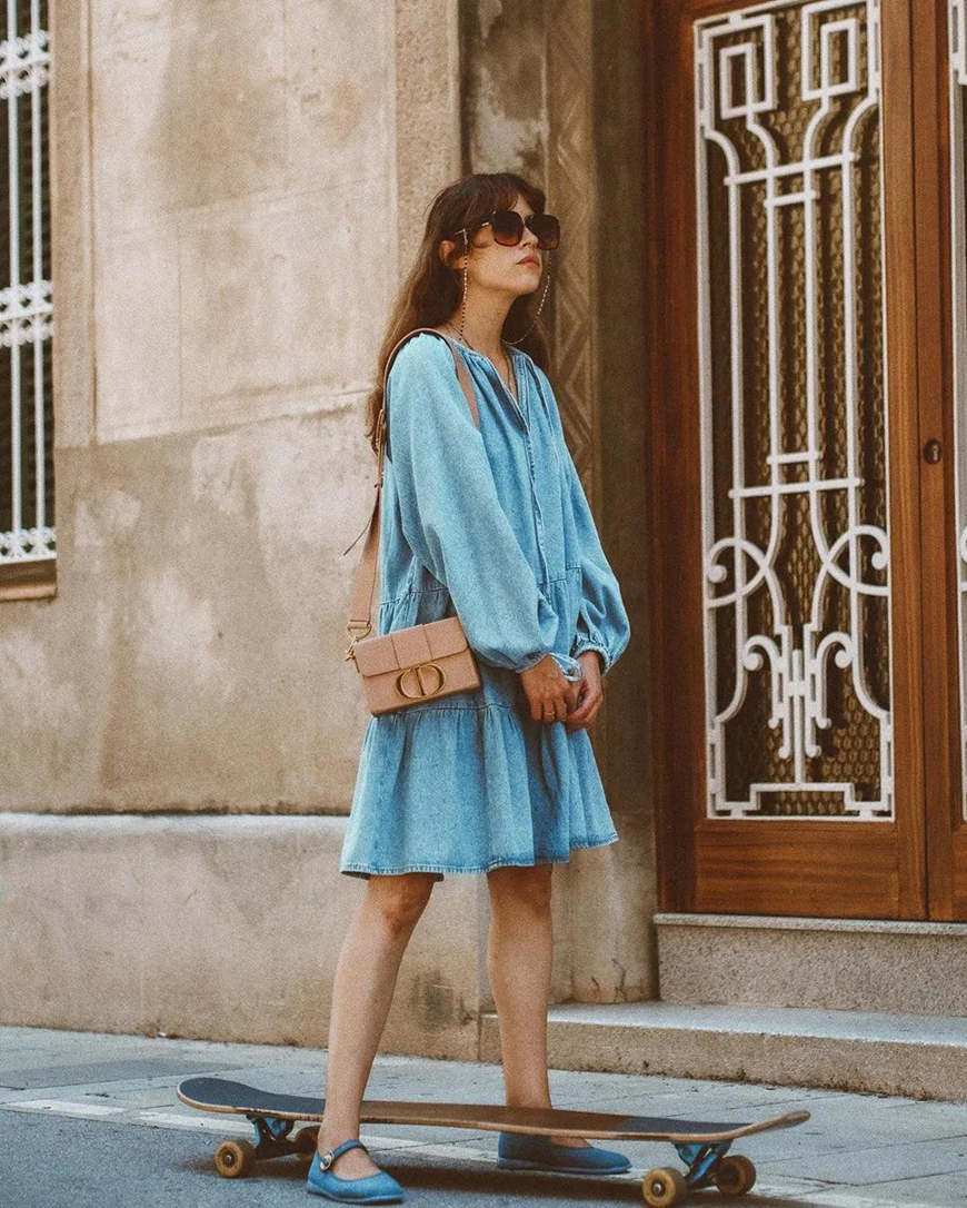 a-blue-oversized-dress