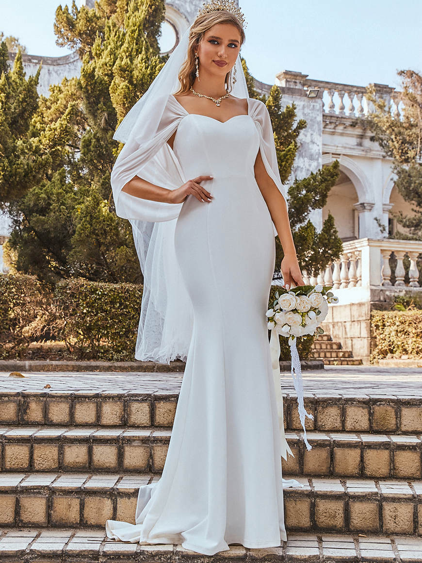 a-fishtail-wedding-dress