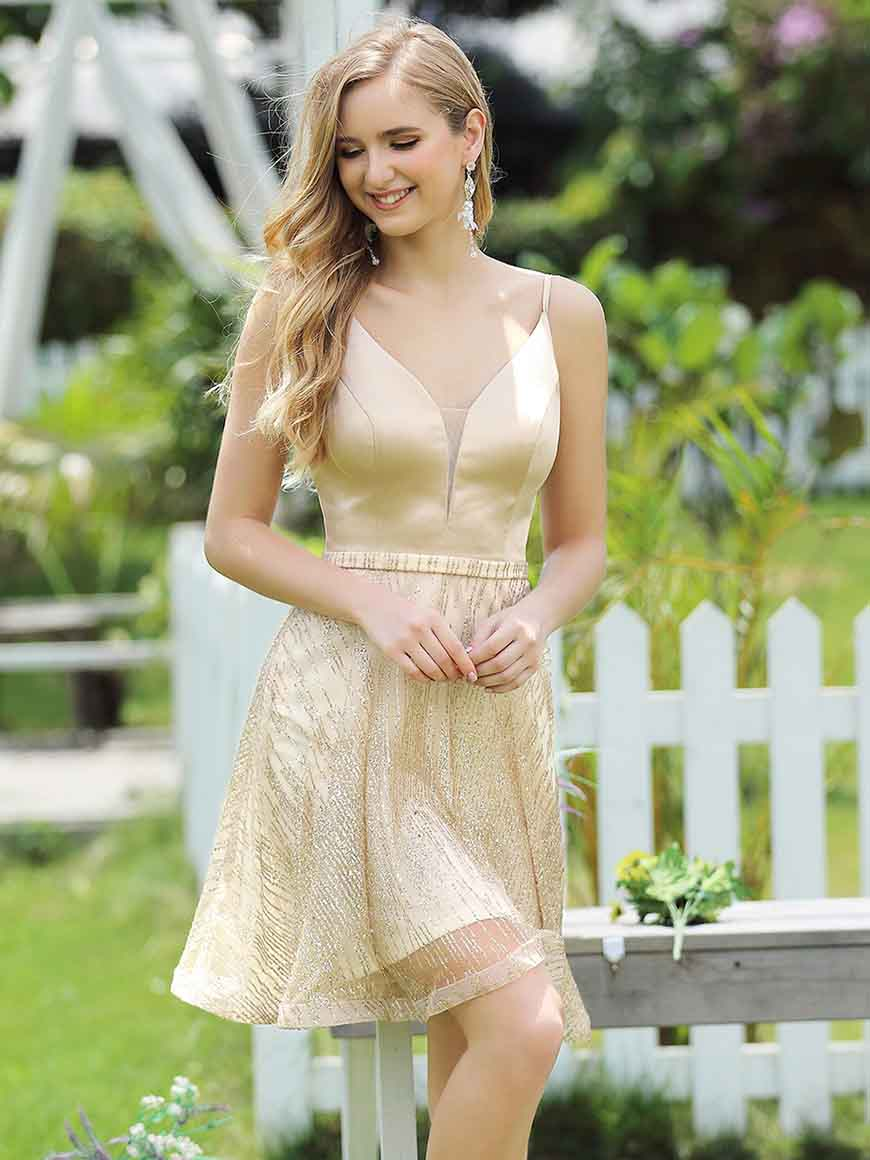 a-gold-homecoming-dress