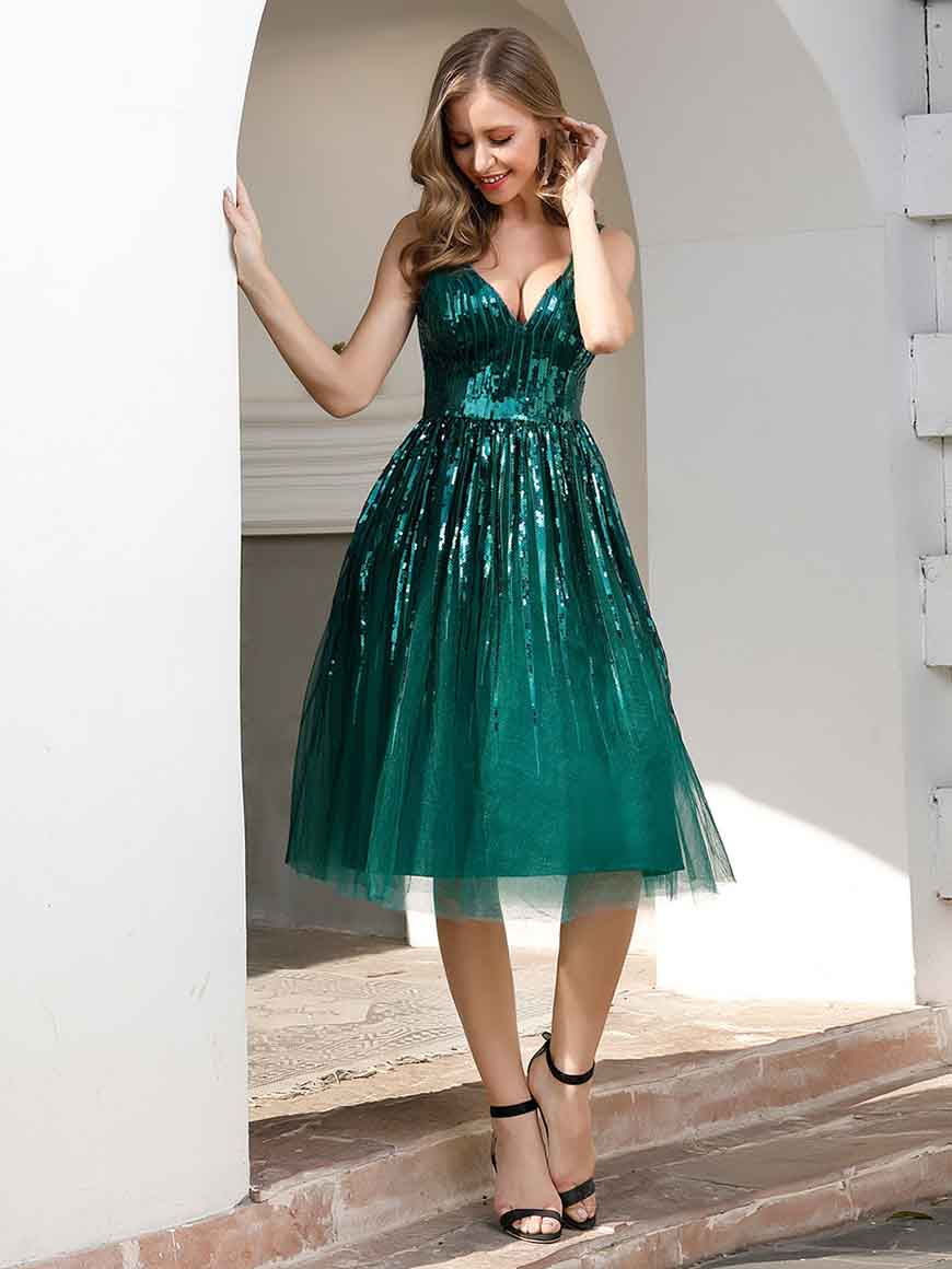 a-green-homecoming-dress