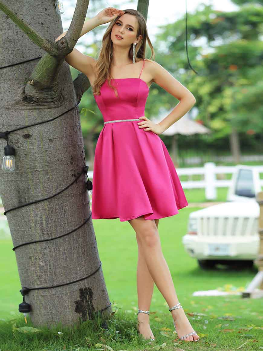 a-hotpink-homecoming-dress