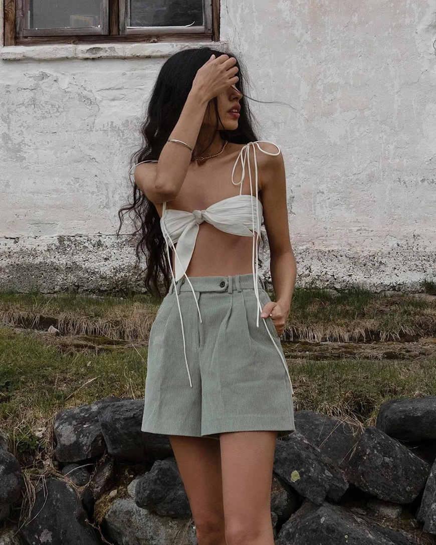 a-white-bikini-top-with-a-knot
