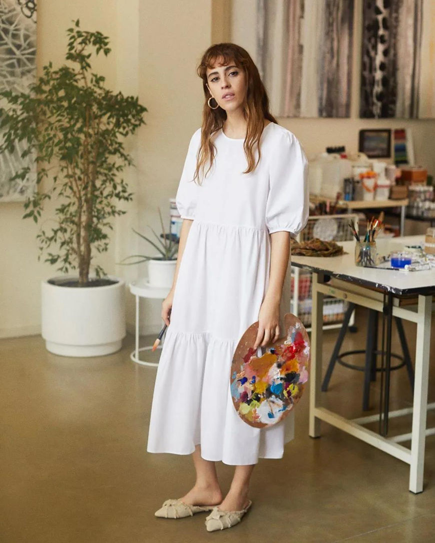 a-white-oversized-dress