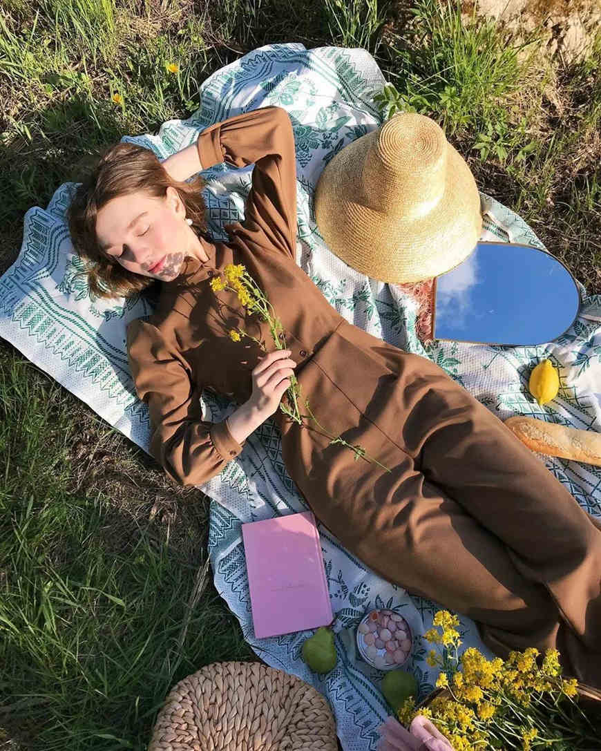 a-woman-is-sleeping