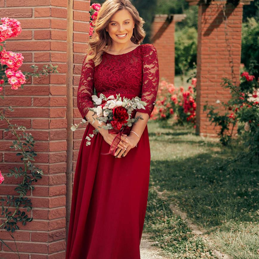 an-elegant-burgundy-dress