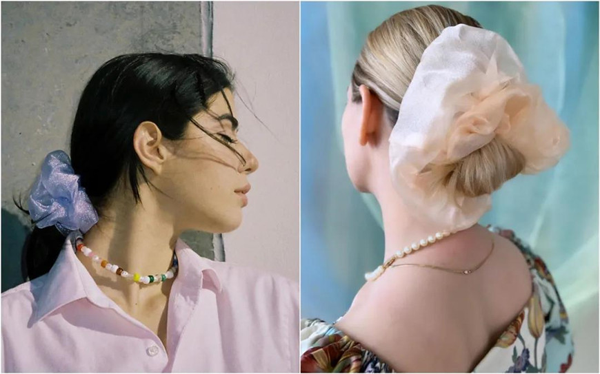 two-organza-hair-ties