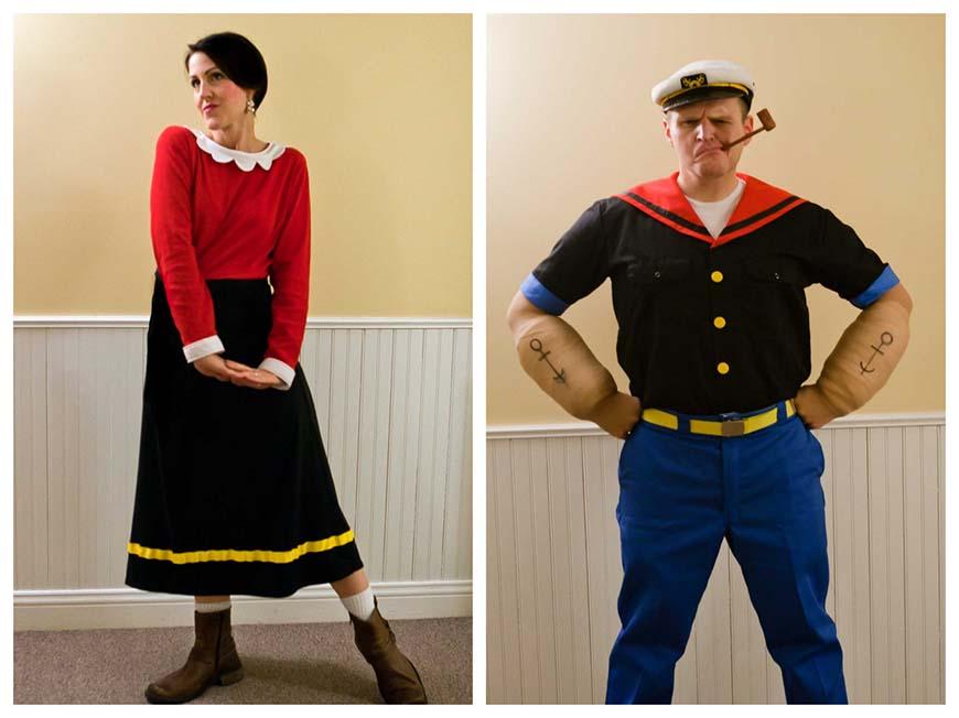Popeye-and-Olivia