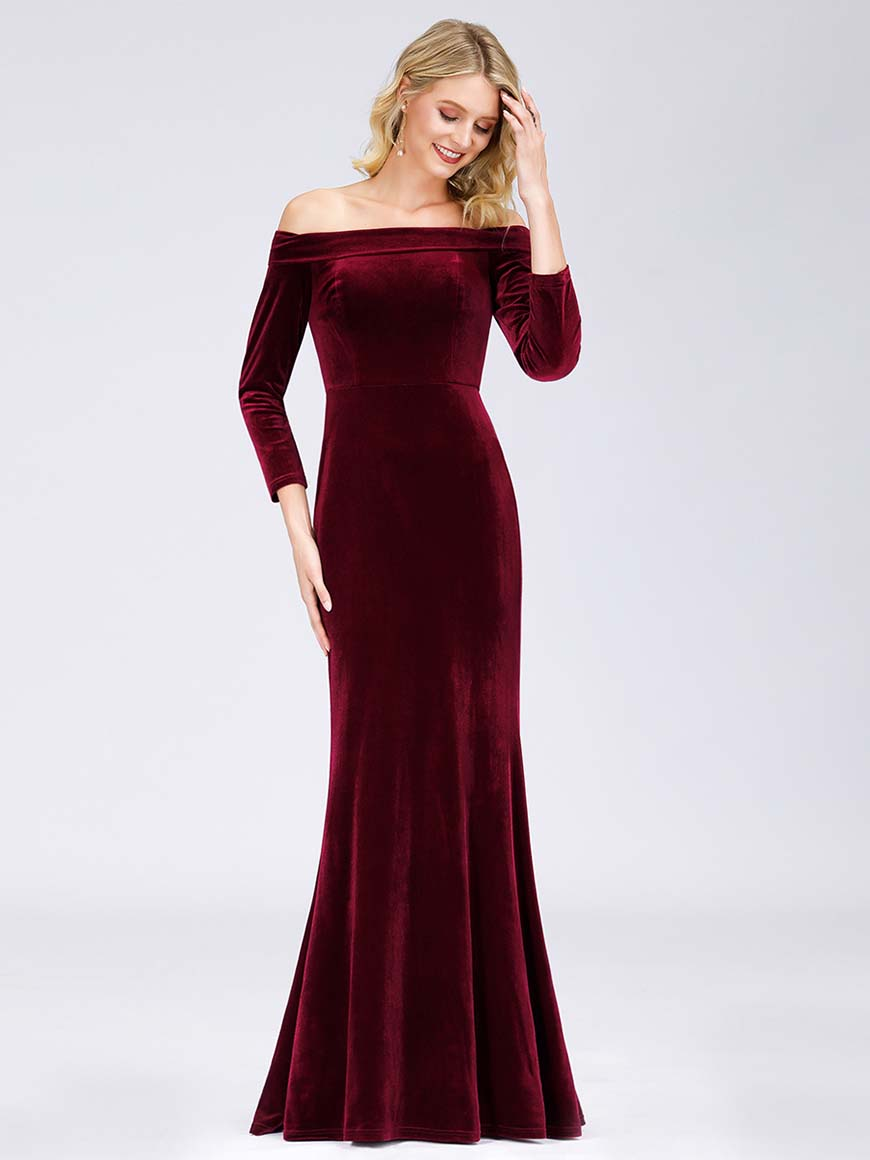 a-burgundy-velvet-wedding-guest-dress