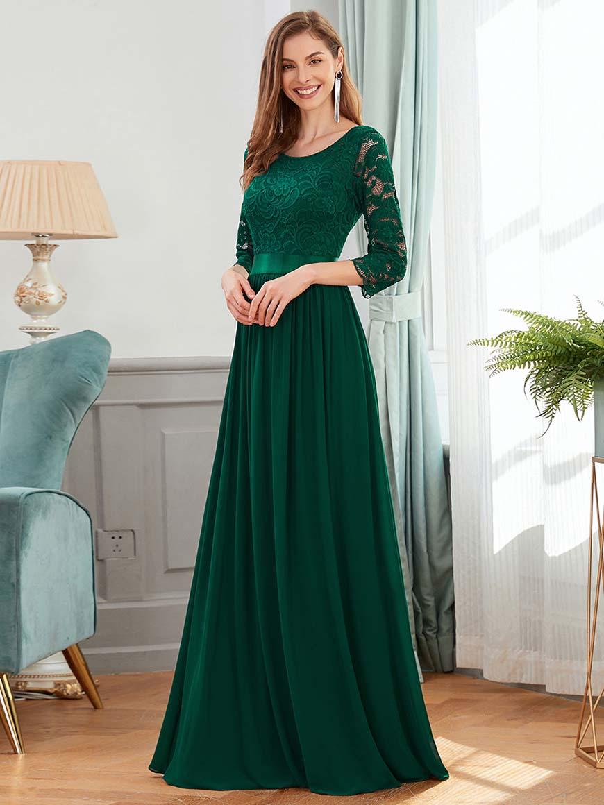 a-green-bridesmaid-dress