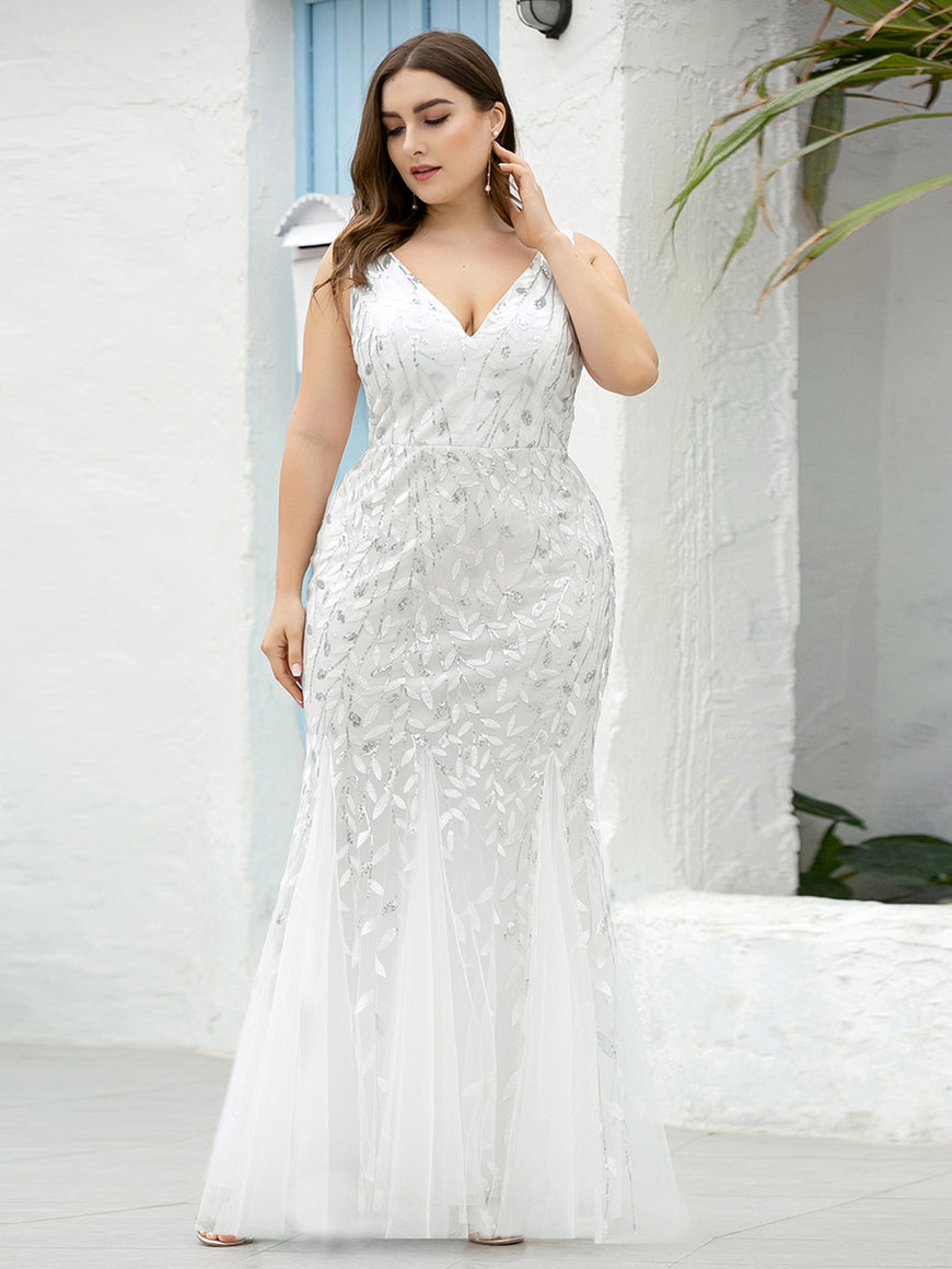 Fishtail-dress