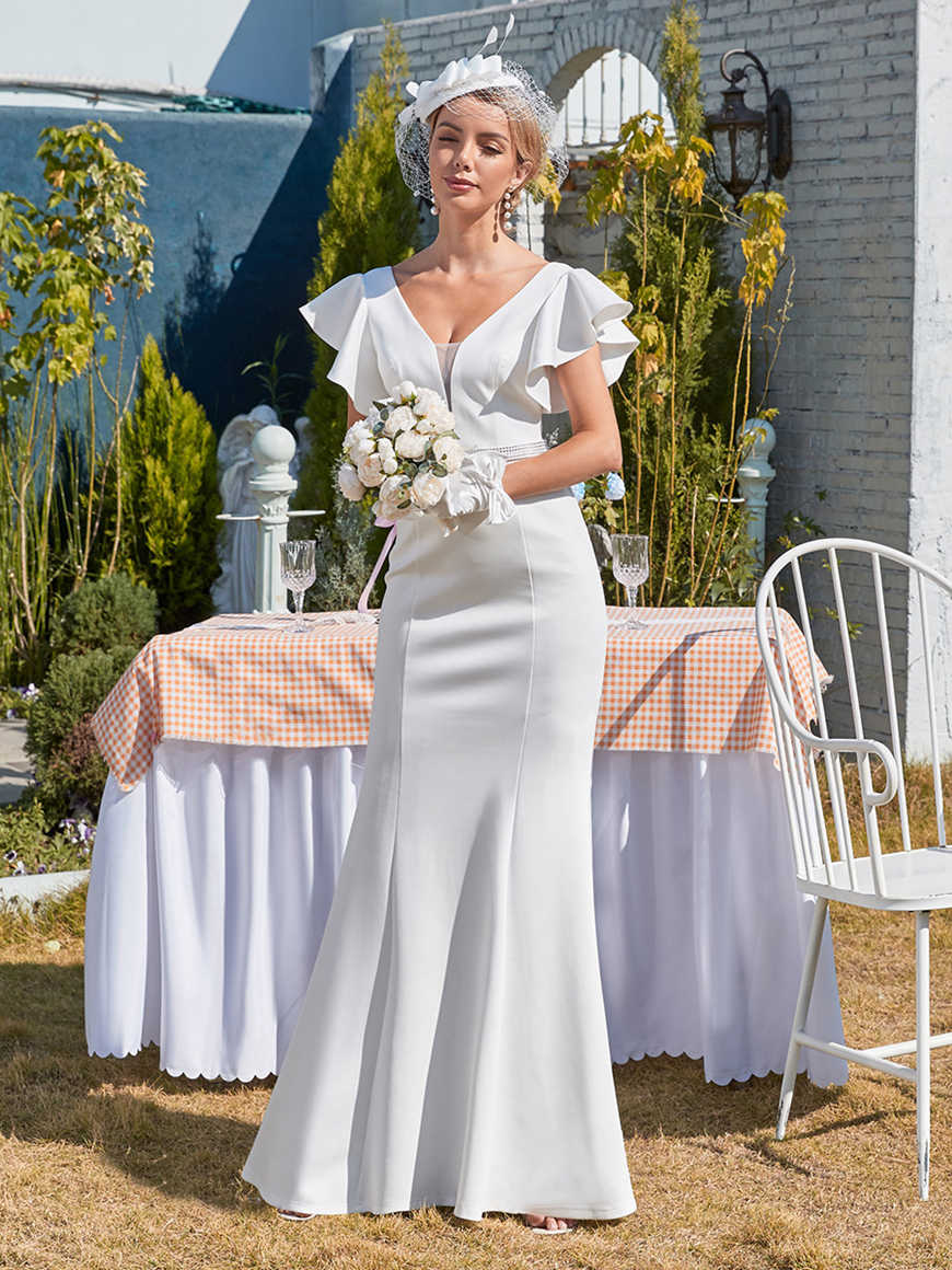 Subtle-Maxi-Fishtail-Wedding-Dress