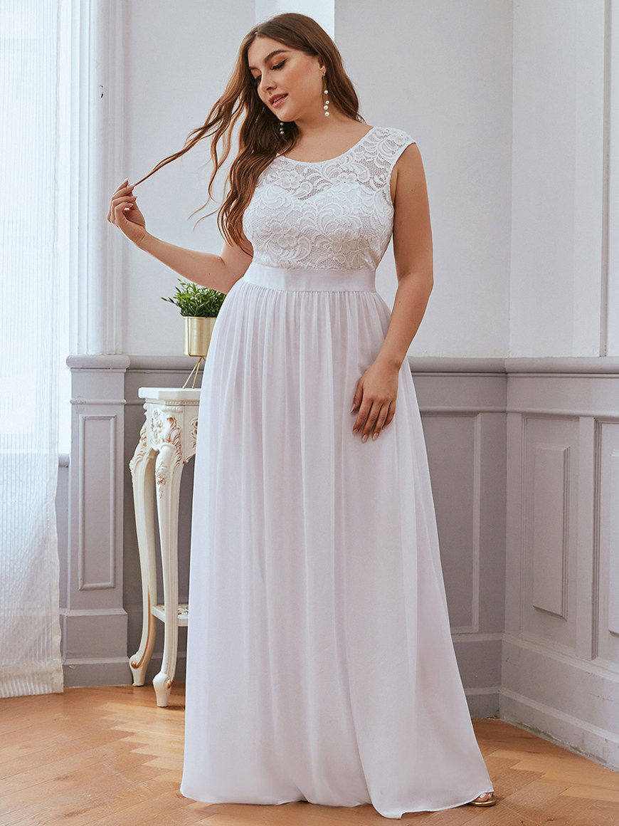 Subtle-Round-neck-A-line-Wedding-Dress