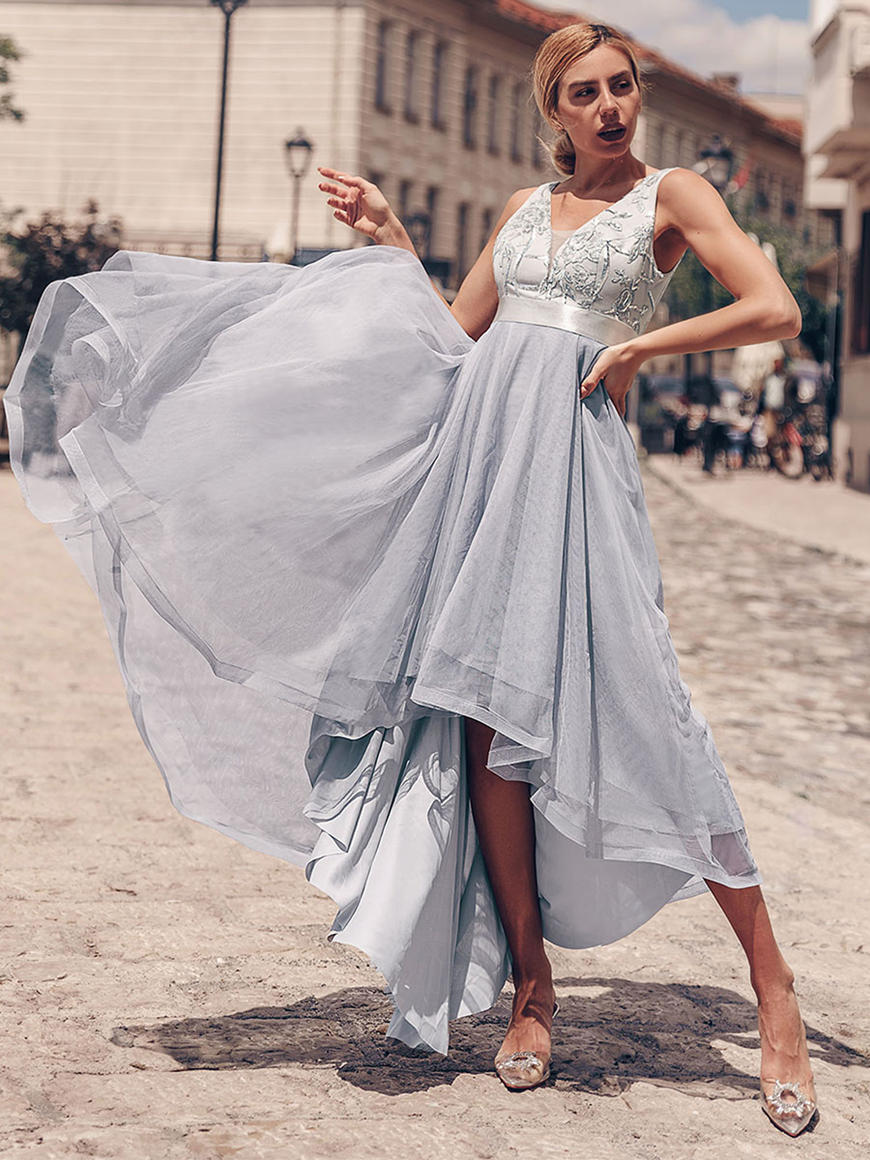 Trendy-High-Low-Bridesmaid-Dress