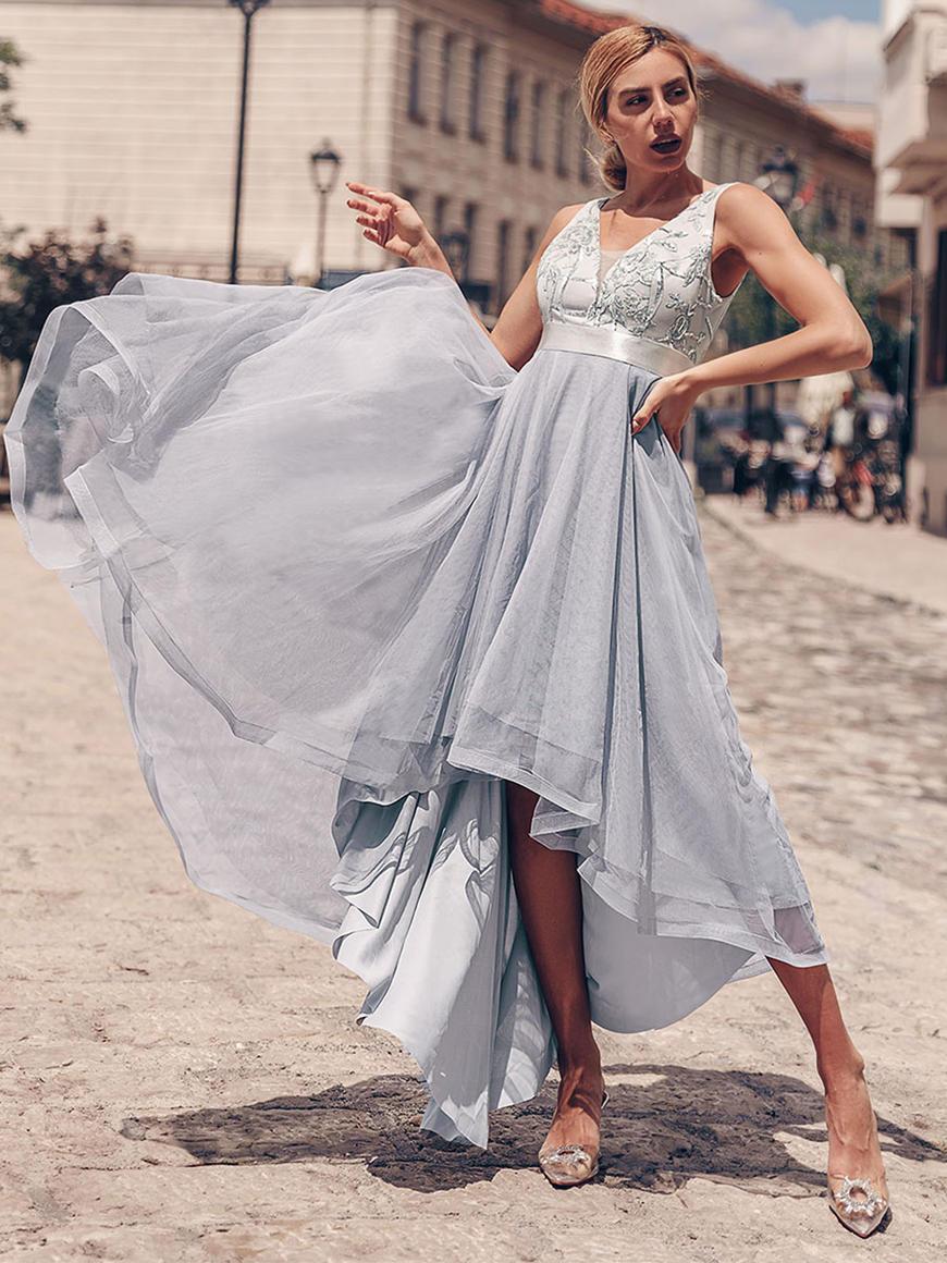 Trendy-High-Low-Bridesmaid-Dress