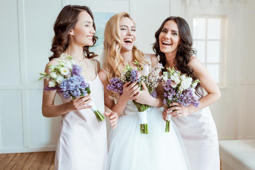 bridesmaid-shouldn't-wear-short-dresses