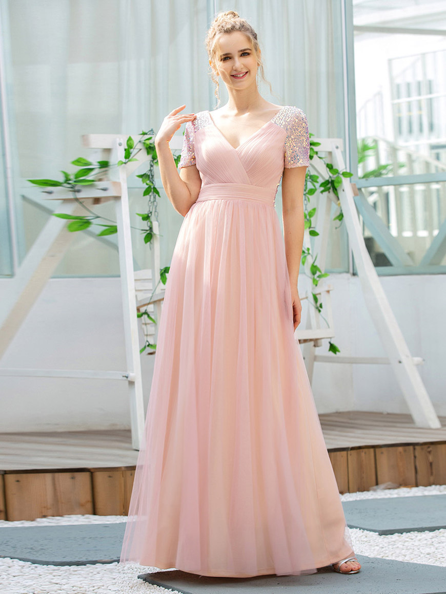 A-line-easter-dress
