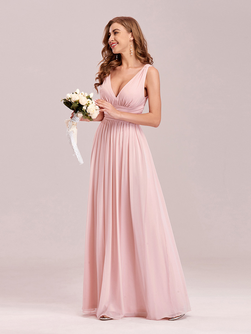 Daring-V-Neck-Maxi-Dress
