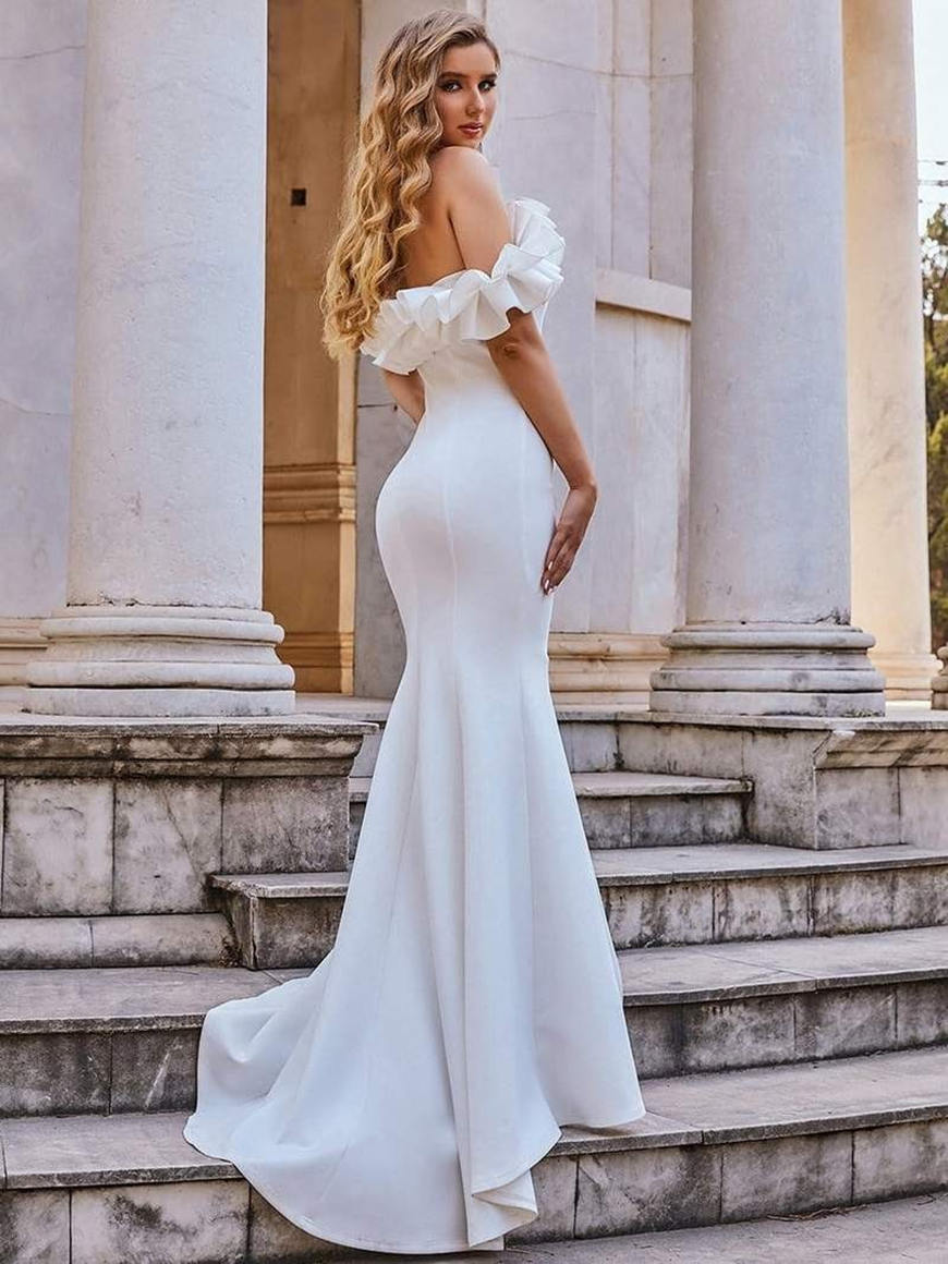 Off-Shoulder-A-line-Mermaid-Evening-gown