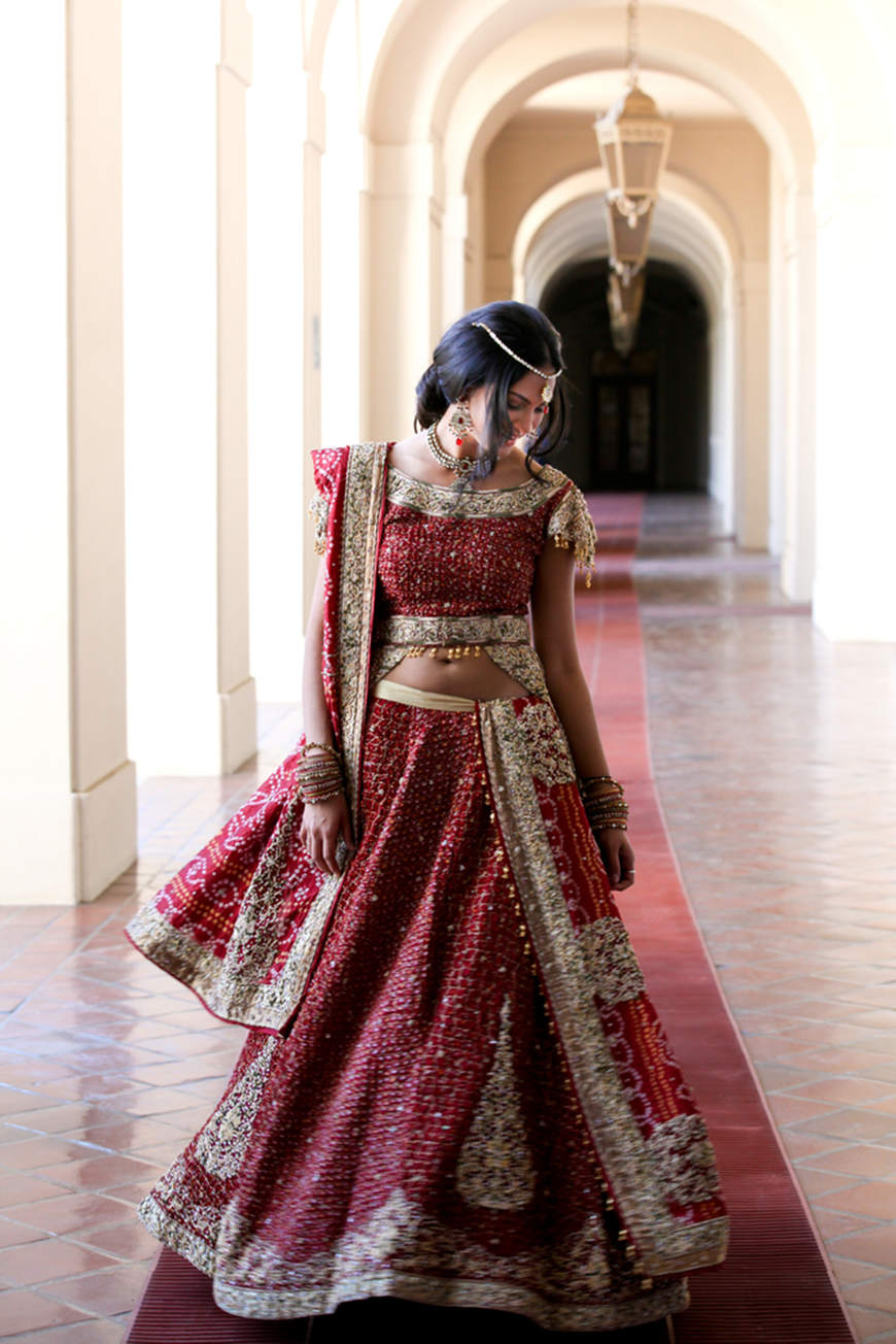 beautiful-indian-bride-on-cathedral-hallway