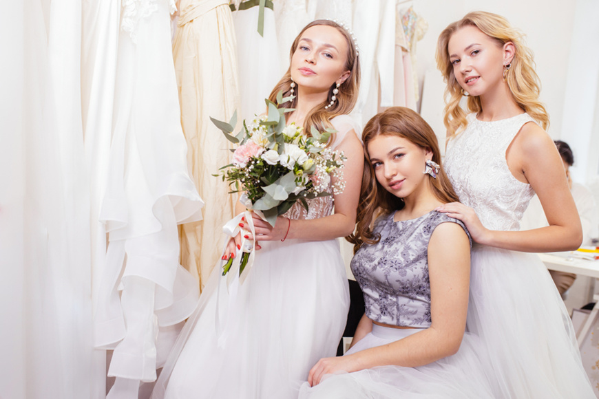long-white-bridal-shower-dress