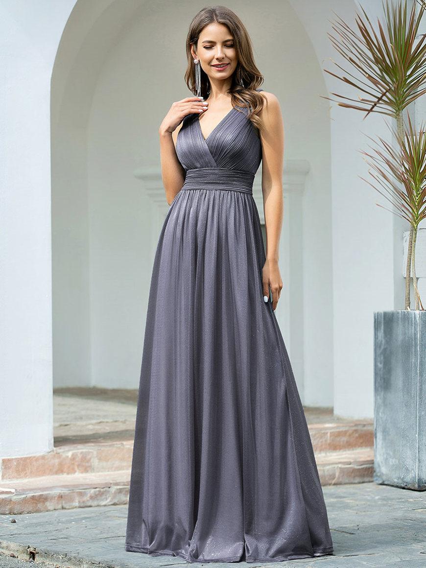 v-neck-wrap-dress