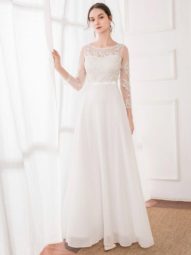 Romantic-Beach-Wedding-Dress